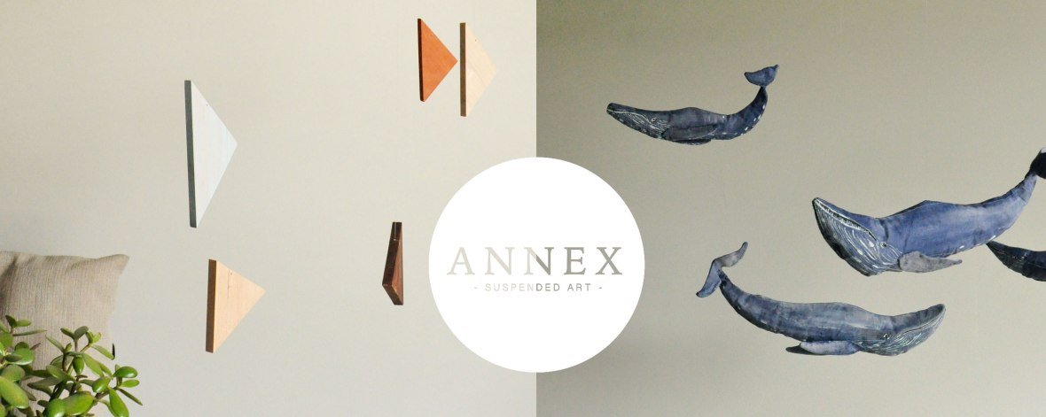 Annex Suspended - Michelle and Brina - Mobiles, Suspended Art, Wall Hangings - Hand Crafted in Fernie, BC Canada
