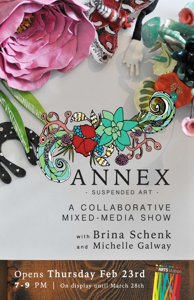 Annex Suspended Art - Fernie BC - Art Show - Mixed-Media - Mobiles, Collaboration