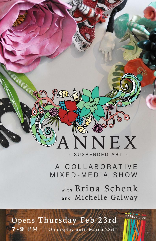 Annex Suspended Art - Fernie BC - Art Show - Mixed-Media - Mobiles, Collaboration