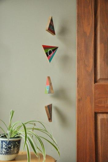 Custom Personalized Hanger for Zola - suspended art - artwork for kids - kid's room