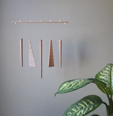 Annex Suspended - Wall Hanging - Forest Balance Wood