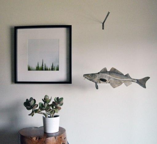 Annex Suspended - Uncle Tom Codfish - Codfish Hanging Art