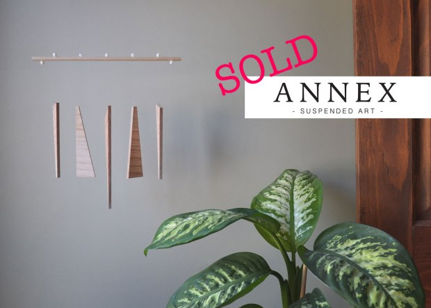 Annex Suspended - Mobiles, Suspended Art, Wall Hangings - SOLD decorative art