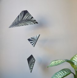 Annex Suspended - Suspended Art - Tropical Plants, Hand Painted