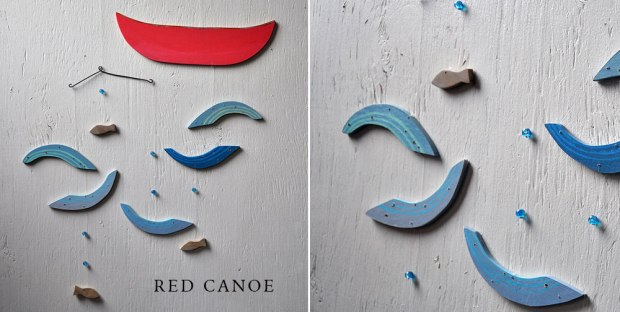Red Canoe hanging details