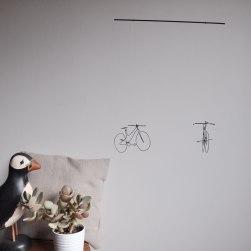 Annex Suspended - Two Bike Wire Mobile