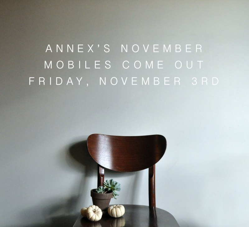 Annex Suspended Art - Mobile Art Release Date