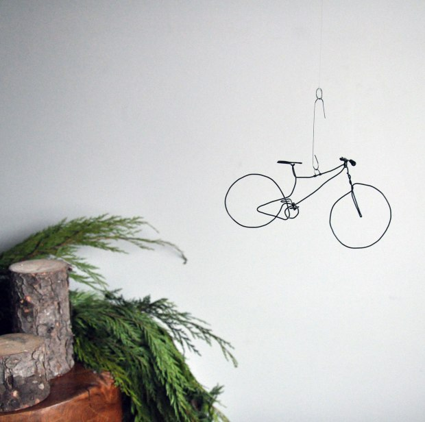 Wire Bike Ornament - Annex