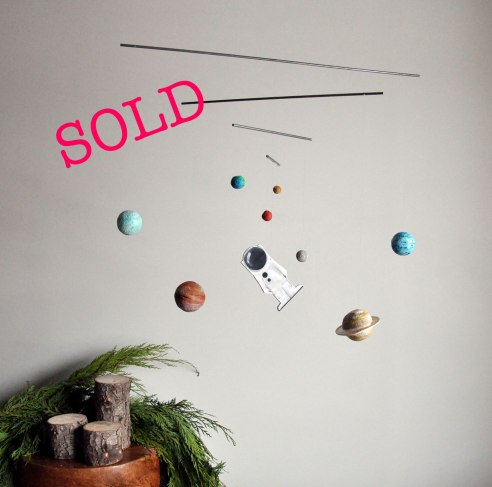 Annex suspended Mobile Art Release - Centre of the Universe, Solar System Mobile for Kids