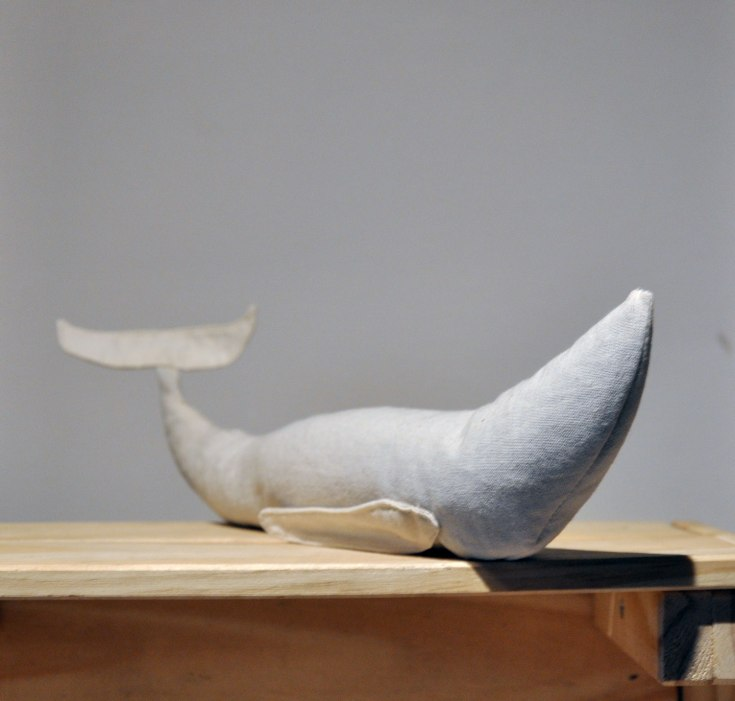 Custom Stuffed Whale - Custom Design