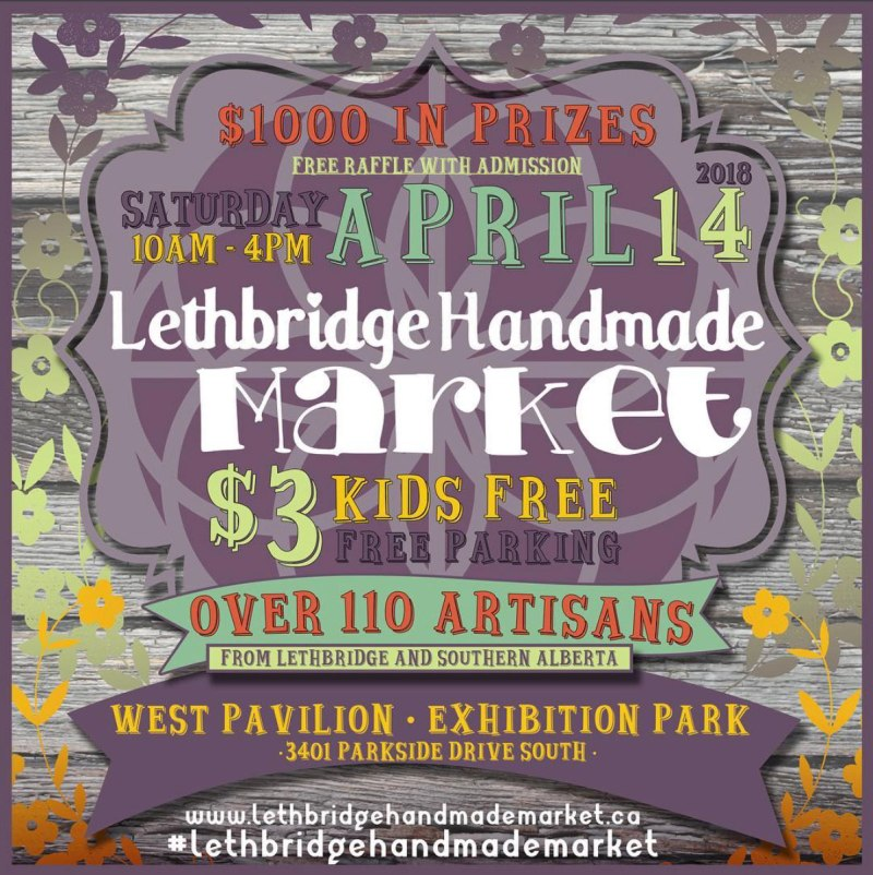 Lethbridge Handmade Market Spring 2018 - Annex Suspended Mobiles and over 110 Artisans