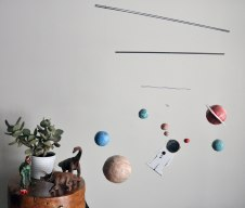 Solar System mobile by Annex Suspended - Centre of the Universe No. 2