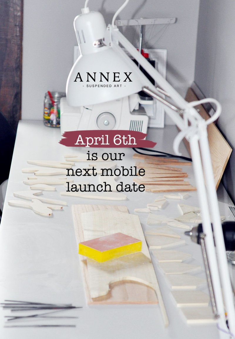 Annex Suspended Art - Mobile Release Date April 6th, 2018