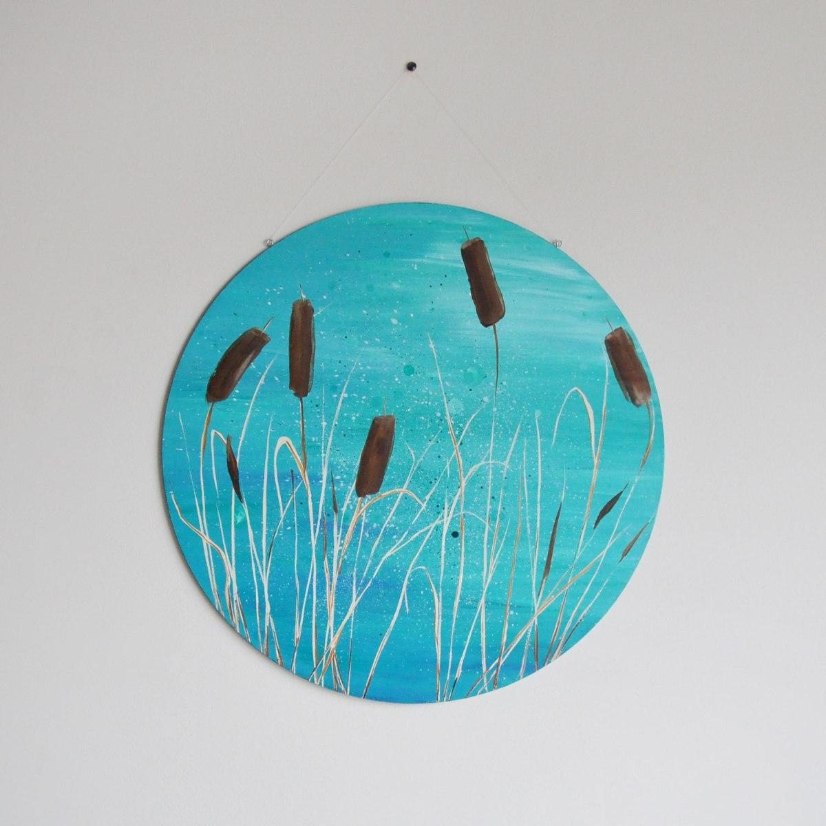 Annex Suspended Round Circle Art 18