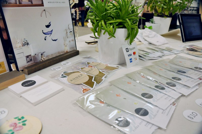Lethbridge Handmade Market - Table Display and Paper Packaging