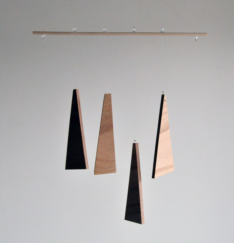 Annex Suspended Art - Natural Equilibrium Abstract Wood Wall Hanging or Mobiles