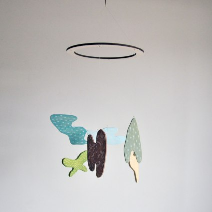 Annex Suspended Mobile Art - Hand crafted, hand painted mobiles made in Fernie, BC Canada