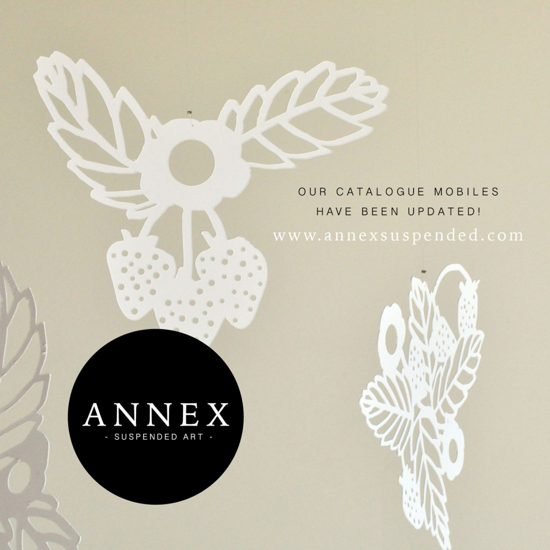Annex Suspended Catalogue Mobiles - New Hanging Decor in Fernie BC Canada