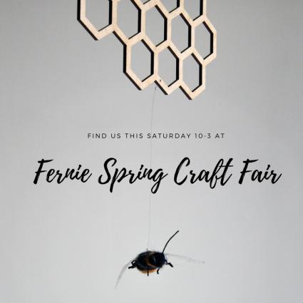 Fernie Spring Craft Fair - Handmade Hanging Decor, Mobiles and Suspended Art in Fernie BV