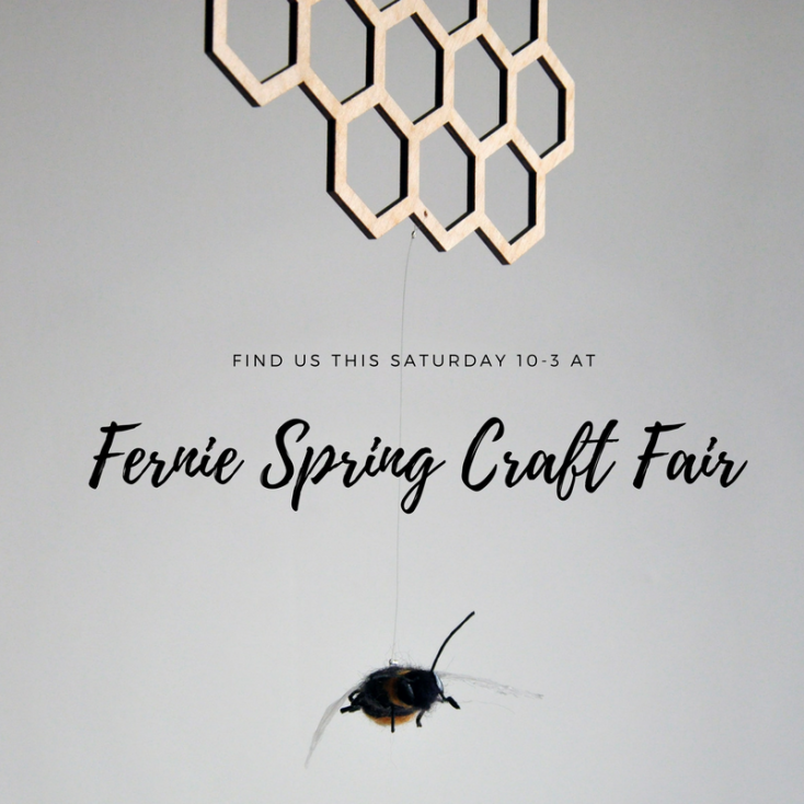 Fernie Spring Craft Fair - Handmade Hanging Decor, Mobiles and Suspended Art in Fernie BV