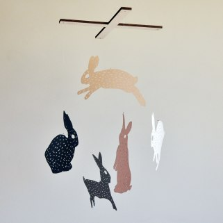 Annex Suspended - Paper Bunny Mobile