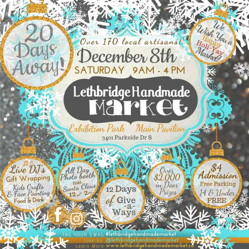 Lethbridge Handmade Market - 170 Handmade Vendors Christmas Market