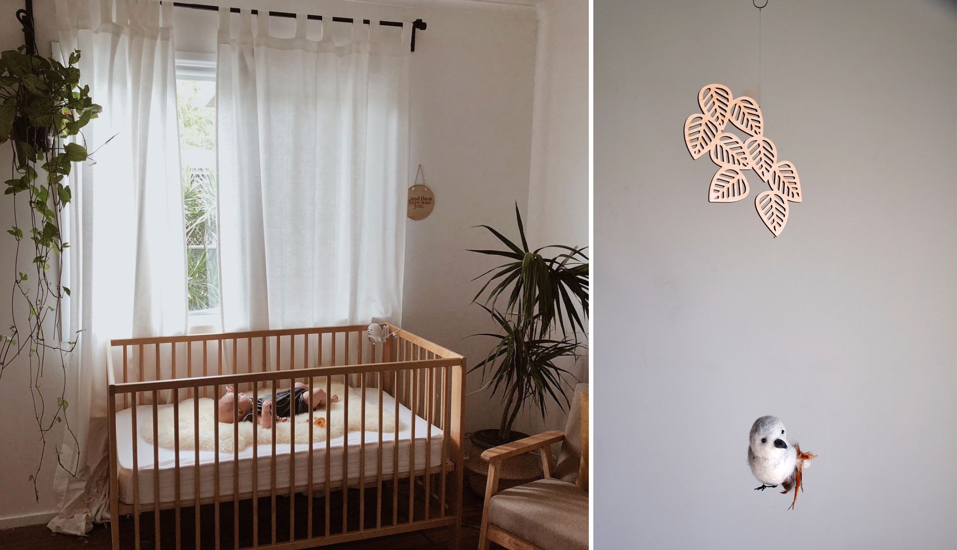 Nursery Room Style & Mobile Pairings