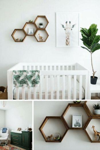 Safari Giraffe Nursery Room Design Inspiration from Pinterest - The Little Milk Bar - Kola's Gender Neutral Nursery