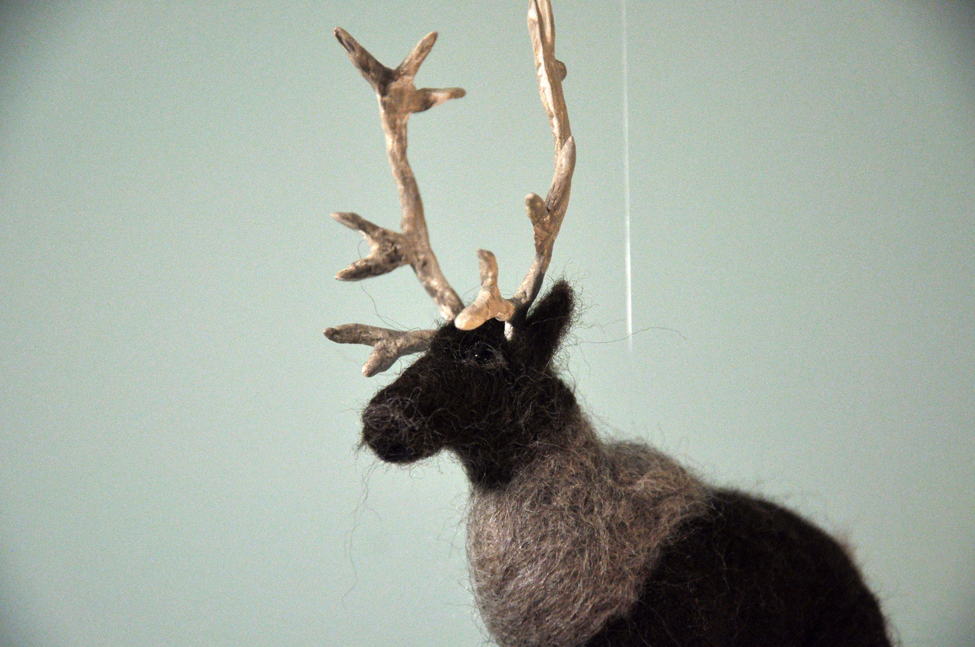 Dreaming of Caribou Mobile by Annex Suspended - handmade mountain animal hanging decor in Fernie, BC Canada